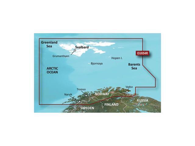 CWR Garmin Bluechart G2 - HXEU054R - Vestfjd - Svalbard - Varanger - microSD/SD