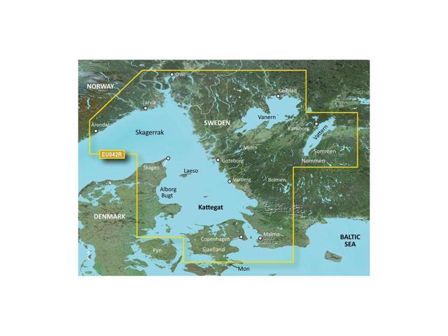 CWR Garmin Bluechart G2 - HXEU042R - Oslo to Trelleborg - microSD/SD