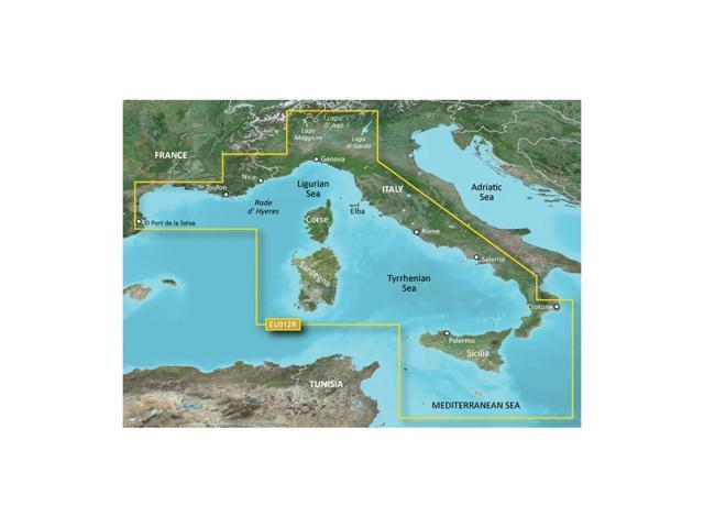 CWR  Garmin Bluechart G2 - HXEU012R - Italy West Coast - microSD/SD