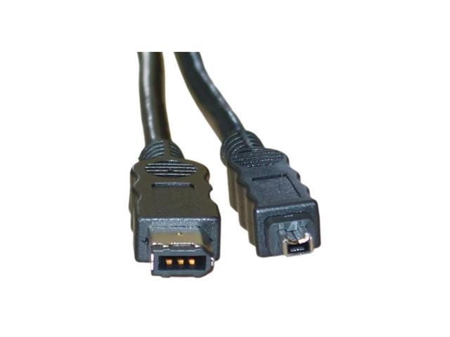 Firewire 400 USB Cable 6 Pin to 4 Pin cable, IEEE-1394a, 15 foot