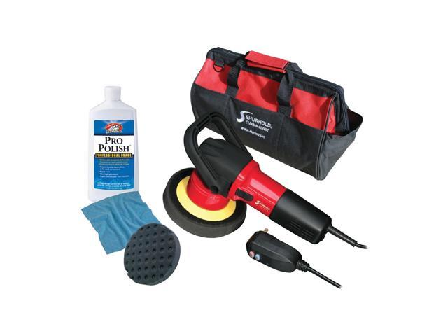 Shurhold Dual Action Polisher Start Kit With Pro Polish, Pad and MicroFiber Towel