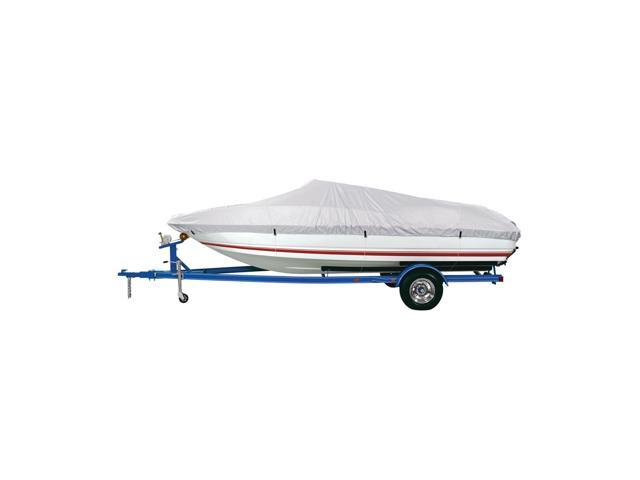 Dallas Manufacturing Co. Polyester Boat Cover B - 14'-16' V-Hull, Tri-Hull Runaboats and Alum. Bass Boats - Beam to 90