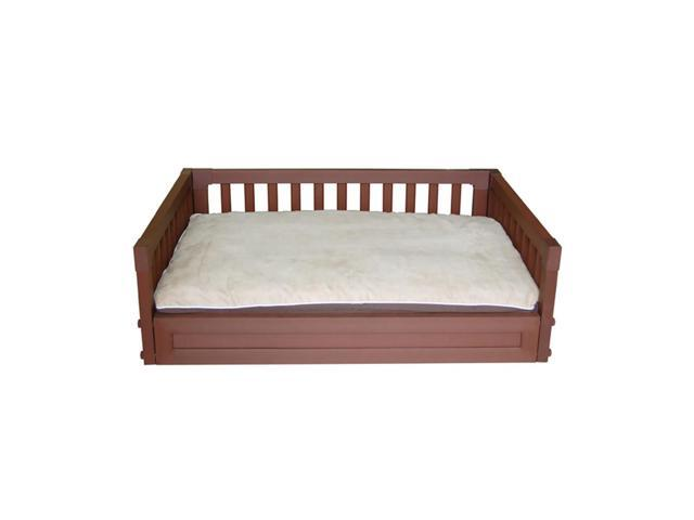 New Age Pet Habitat N' Home My Buddies Bunk Dog Sleep And Play Bed Large Russet