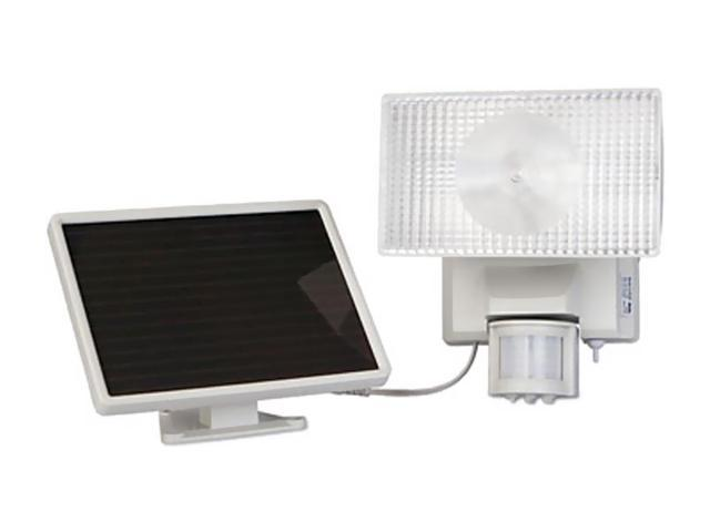 Solar-Powered 50 Led Security Floodlight -Off White