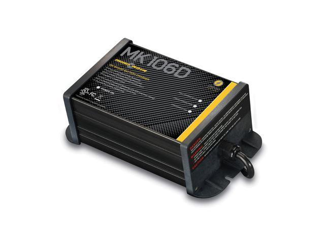Minn Kota MK-106D On-Board Marine Battery Charger 1 Bank x 6 Amps