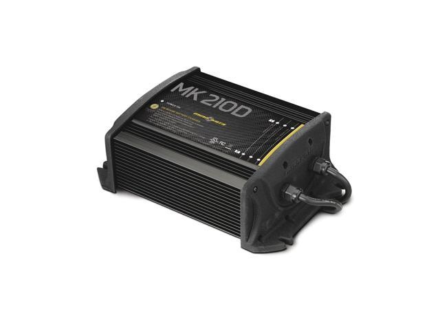 Minn Kota MK-210D On-Board Marine Battery Charger 2 Bank x 6 Amps