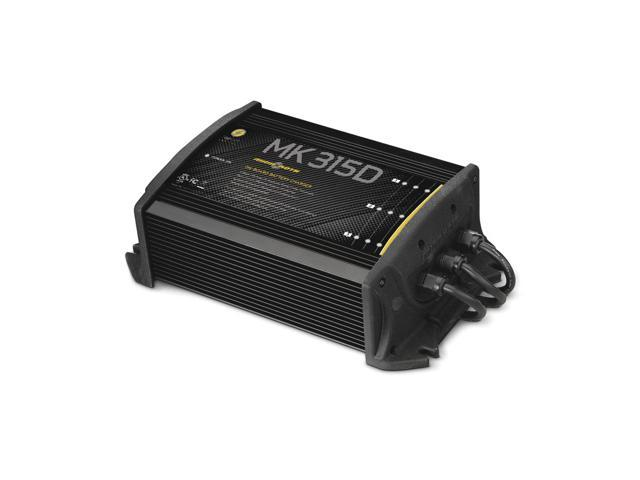 Minn Kota MK-315D On-Board Marine Battery Charger 3 Bank x 5 Amps