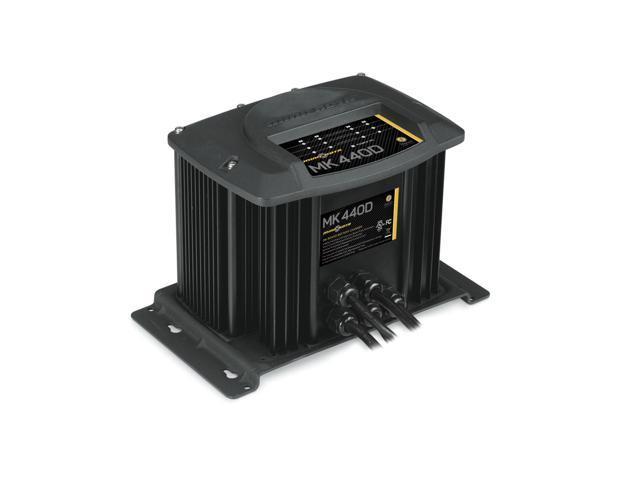 Minn Kota MK-440D On-Board Marine Battery Charger 4 Bank x 10 Amps