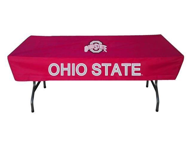 Rivalry sports college team logo ohio state 6 foot table for Table 6 ohio