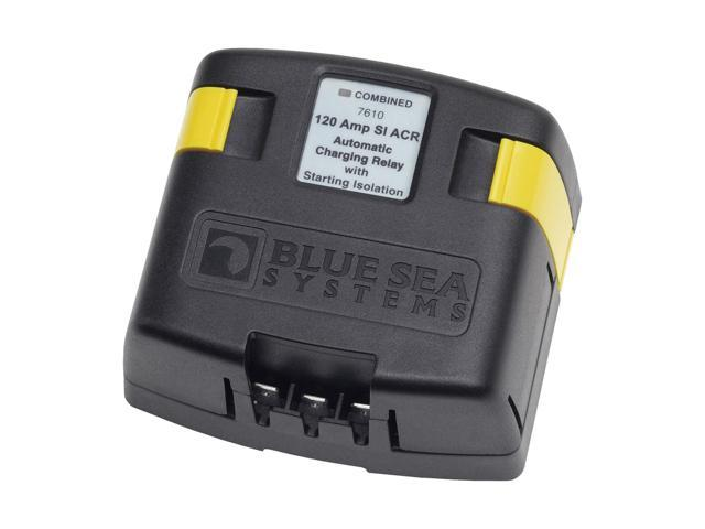 Blue Sea Systems 7610 120 Amp SI-Series Automatic Charging Relay