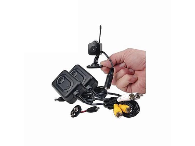 Azimporter Tiny Wireless Security Spy Surveillance Protection 2.4Ghz Camera