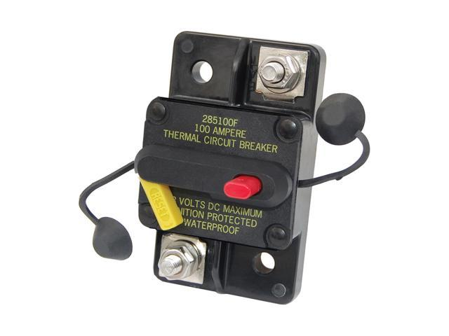 Blue Sea Systems Outdoor Marine 7182 40 Amp Circuit Breaker Surface Mount 285 Series