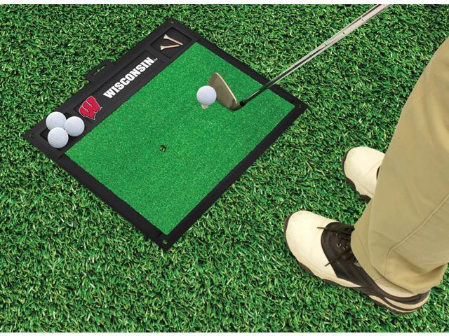 Fanmats University of Wisconsin Badgers Golf Hitting Mat 20