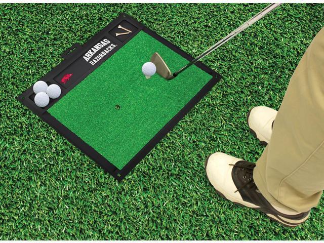 Fanmats University of Arkansas Razorbacks Golf Hitting Mat 20