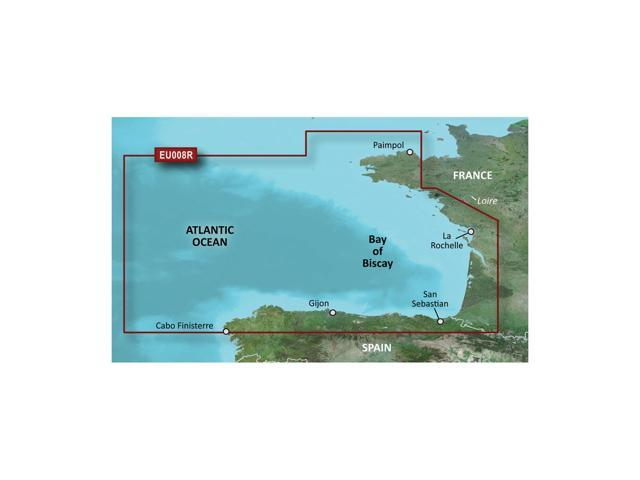 Garmin BlurChart VEU008R - Bay of Biscay - SD Card