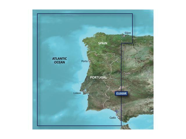 Garmin BlurChart VEU009R - Portugal And New Spain - SD Card