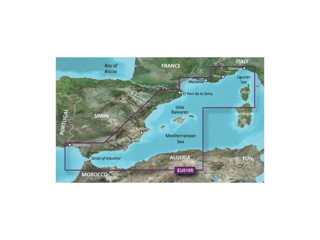 Garmin BlurChart VEU010R - Spain, Mediterranean Coast - SD Card