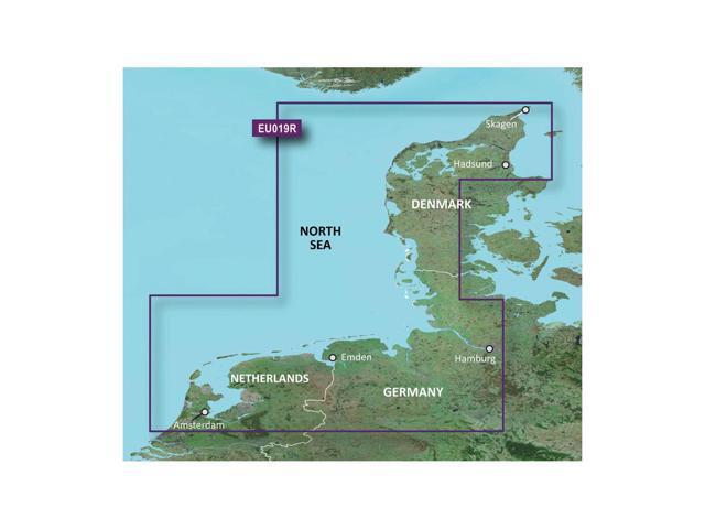 Garmin BlurChart VEU019R - Alborg to Amsterdam - SD Card