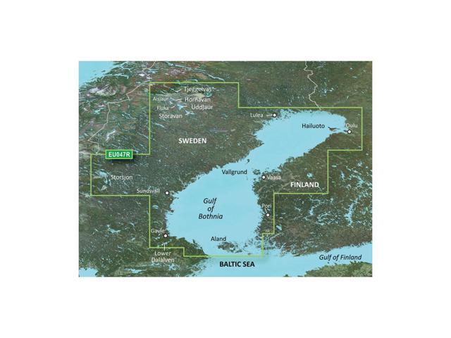 Garmin BlurChart VEU047R - Gulf of Bothnia - Kalix to Grisslehamn - SD Card