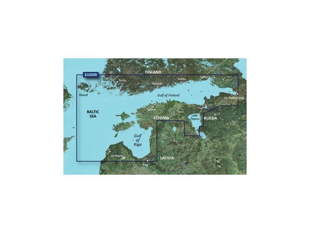 Garmin BlurChart VEU050R - Aland to Vyborg - SD Card