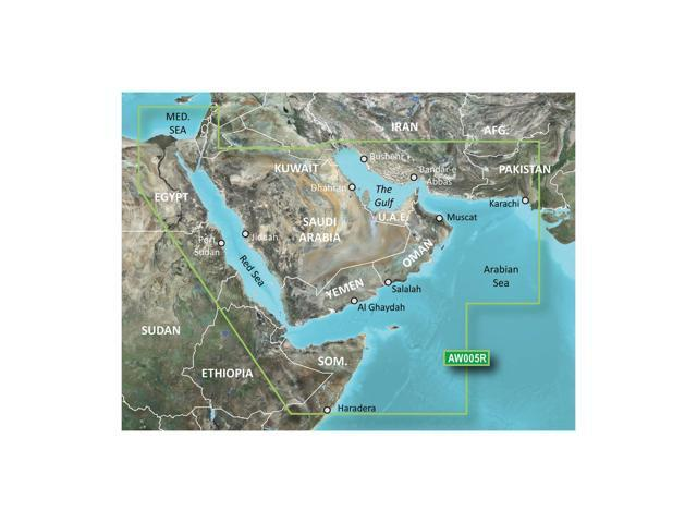 Garmin Vaw005R The Gulf and Red Sea G2 Vision Sd Card