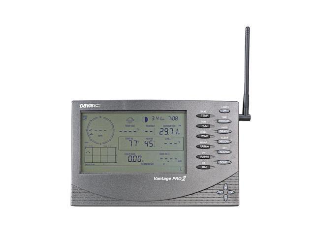 Davis Vantage Pro2 Weather Instrument Wireless Console Receiver - 2Nd Station