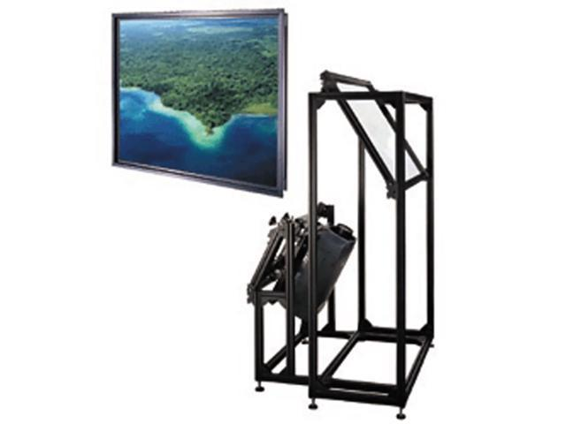 Da-Lite Thru-The-Wall (Ttw) Fixed Frame Video Format 135