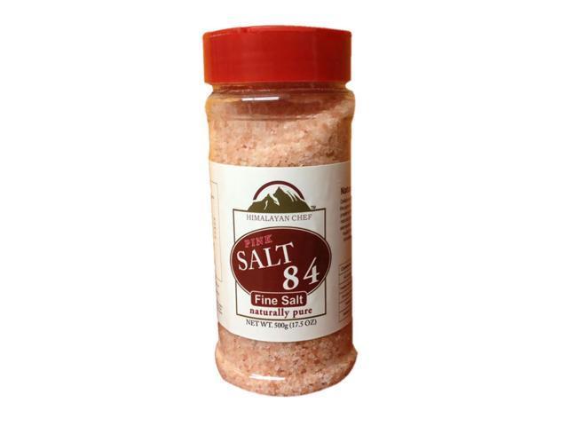 Home Decorative 500G Fine Salt Plastic Jar
