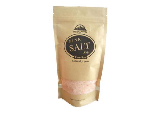 Brown Himalyan Fine Salt Zip Lock Bag - 1 lb