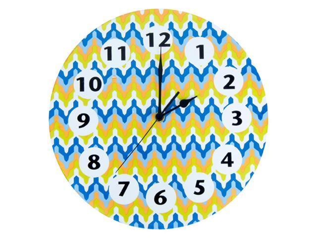 Trend Lab Home Indoor Nursery Kids Room Decorative Wall Clock Levi