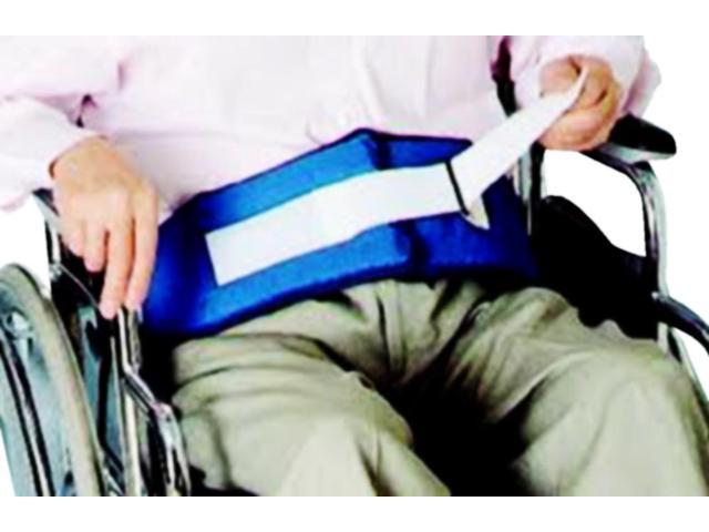 Helping Hand Mobility Aids Waist Release Soft Wheelchair Belt With Velcro Loop