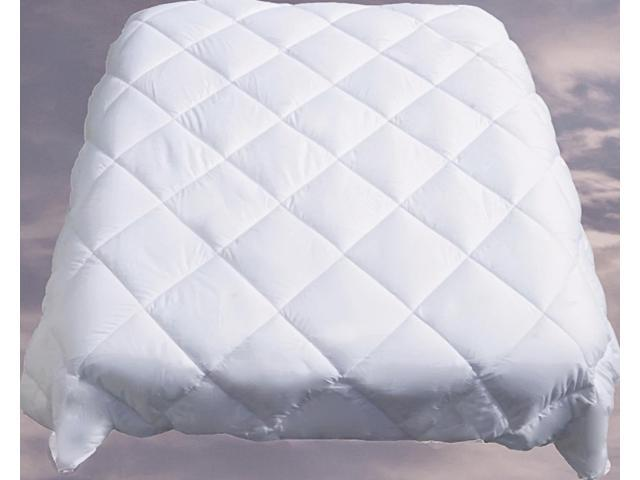 Le Vele Twin Duvet Cover Filler White Goose Down Alternative Comforter LE290T