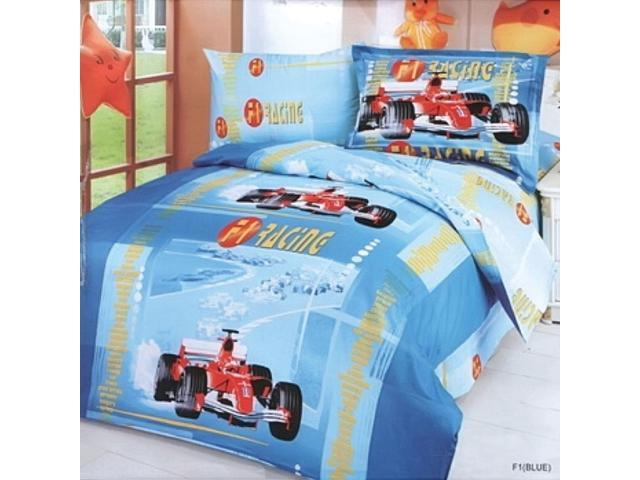 Toddler Room Bedding Modern Twin Duvet Cover Set, Le Vele LE42T
