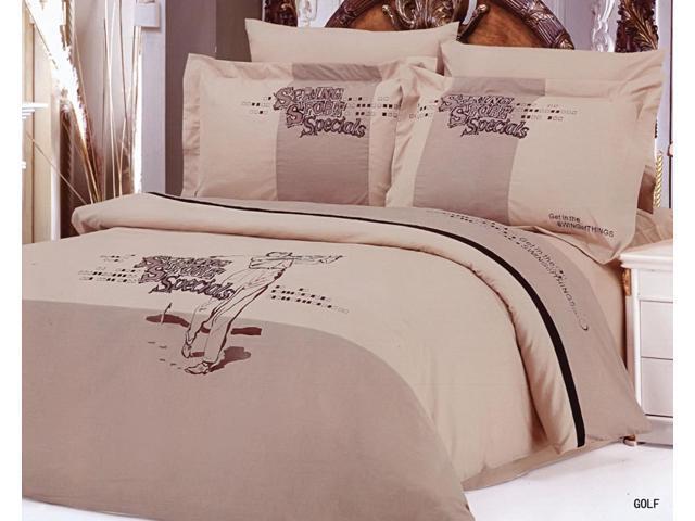 Le Vele Home Full Queen Bed Modern Bedding Sports Duvet Cover Set LE130Q