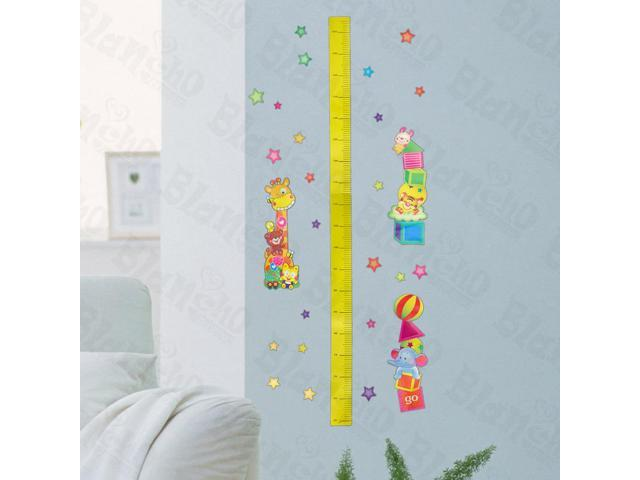 Home Kids Imaginative Art Zoological Garden - Wall Decorative Decals Appliques Stickers