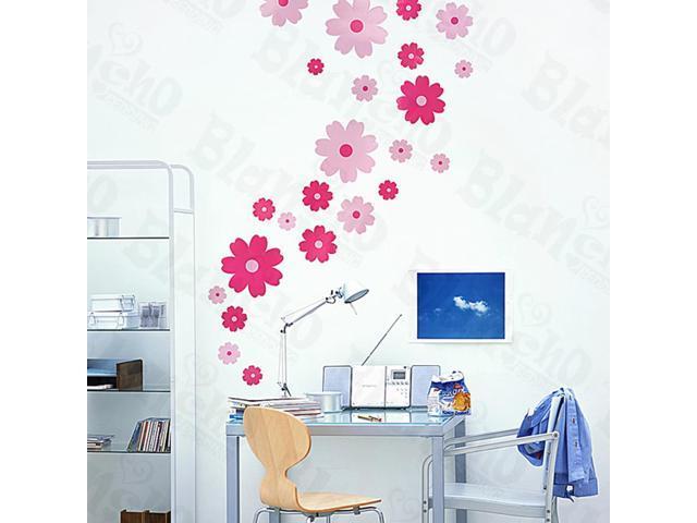 Home Kids Imaginative Art Petal Wheel-1 - Medium Wall Decorative Decals Appliques Stickers