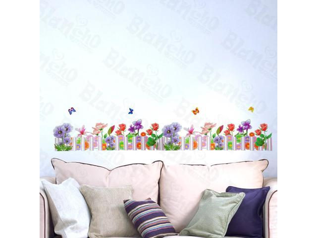 Home Kids Imaginative Art Vibrant Spring - Wall Decorative Decals Appliques Stickers