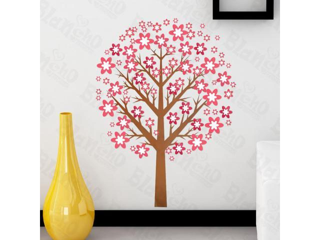 Home Kids Imaginative Art Melody Tree - Large Wall Decorative Decals Appliques Stickers