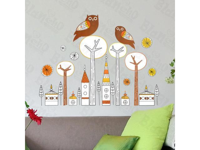 Home Kids Imaginative Art Large Wall Decorative Decals Appliques Stickers