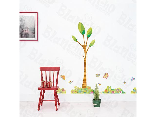 Home Kids Imaginative Art Garden Corner - Large Wall Decorative Decals Appliques Stickers