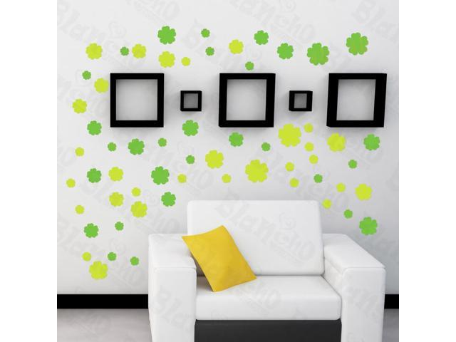 Home Kids Imaginative Art Spring Blossoms - Large Wall Decorative Decals Appliques Stickers