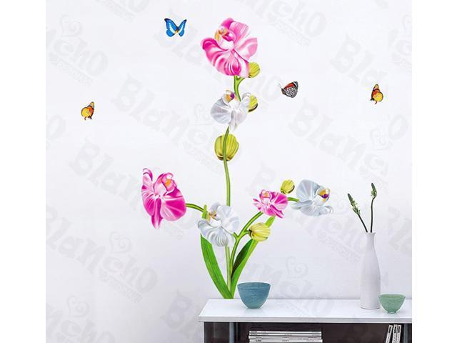 Home Kids Imaginative Art Aromatic Flowers - Wall Decorative Decals Appliques Stickers