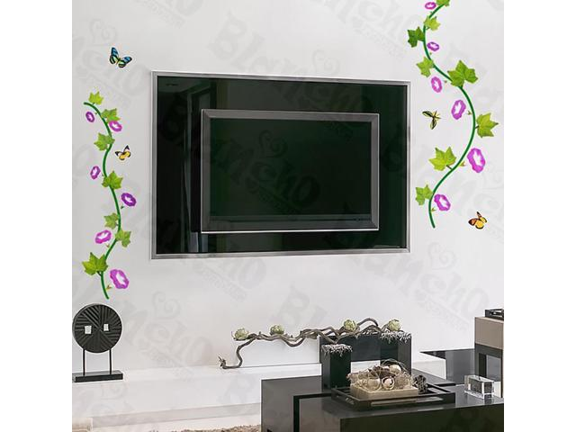 Home Kids Imaginative Art Dancing Butterflies - Wall Decorative Decals Appliques Stickers