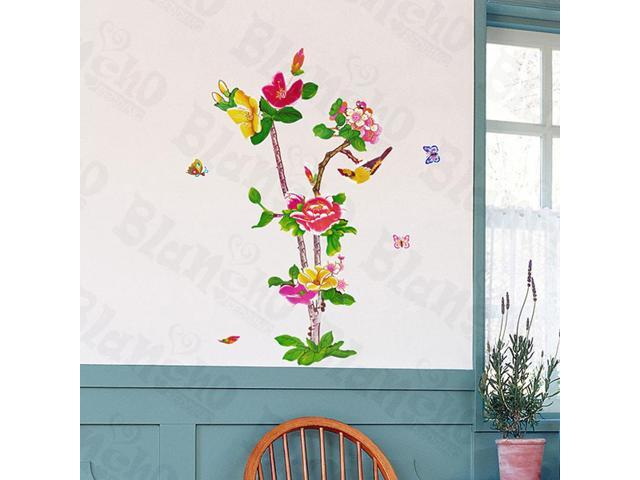 Home Kids Imaginative Art Full-Colour Tree - Wall Decorative Decals Appliques Stickers