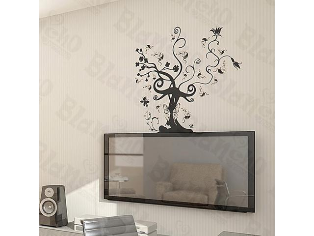 Home Kids Imaginative Art Vine Tree - Large Wall Decorative Decals Appliques Stickers