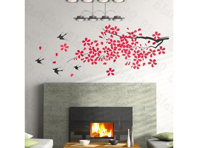 Home Kids Imaginative Art Lucky Tree - Large Wall Decorative Decals Appliques Stickers