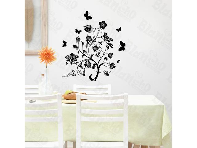 Home Kids Imaginative Art A Blooming Tree - Large Wall Decorative Decals Appliques Stickers