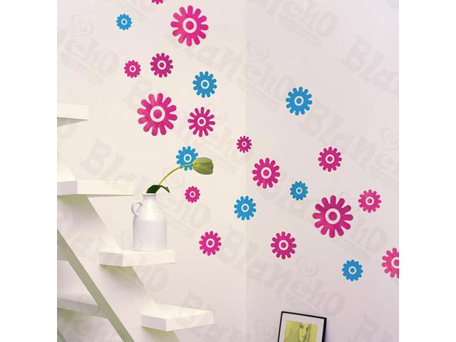 Home Kids Imaginative Art Joyful Round - Wall Decorative Decals Appliques Stickers