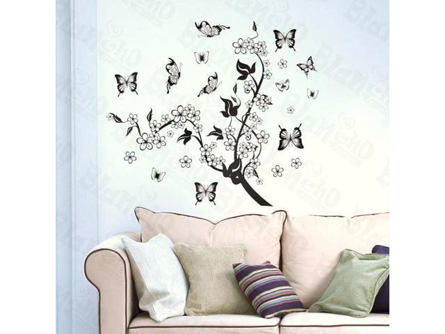 Home Kids Imaginative Art Sakura Sake - Large Wall Decorative Decals Appliques Stickers