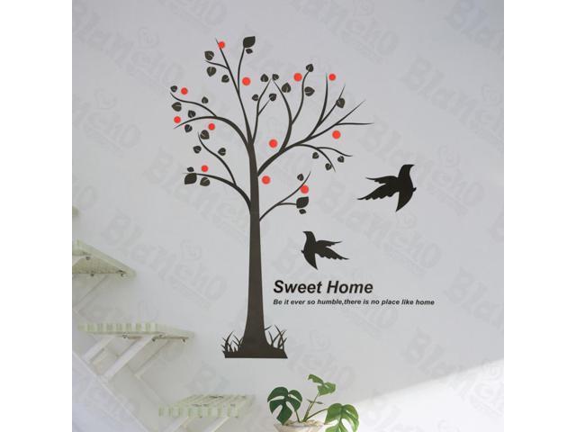 Home Kids Imaginative Art Pandora Tree - Large Wall Decorative Decals Appliques Stickers